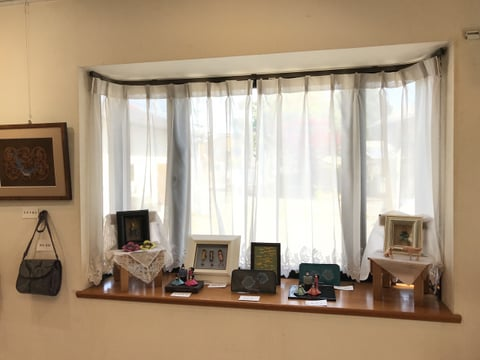 出窓 レザークラフト教室 革工芸教室