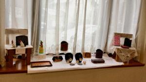 革工芸作品展示風景−2 レザークラフト教室 革工芸教室