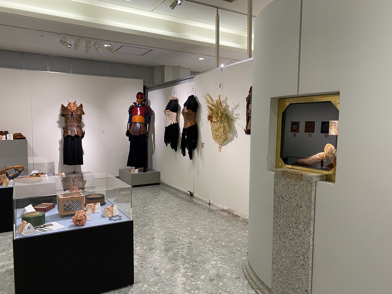 1st International Leather Craft Exhibition −2