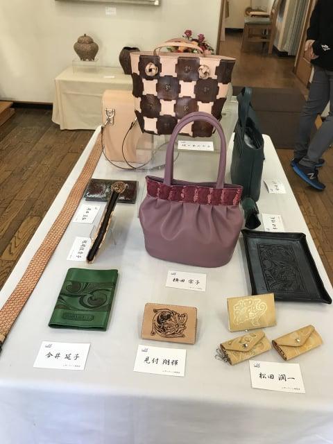 バッグと小物 レザークラフト教室 革工芸教室
