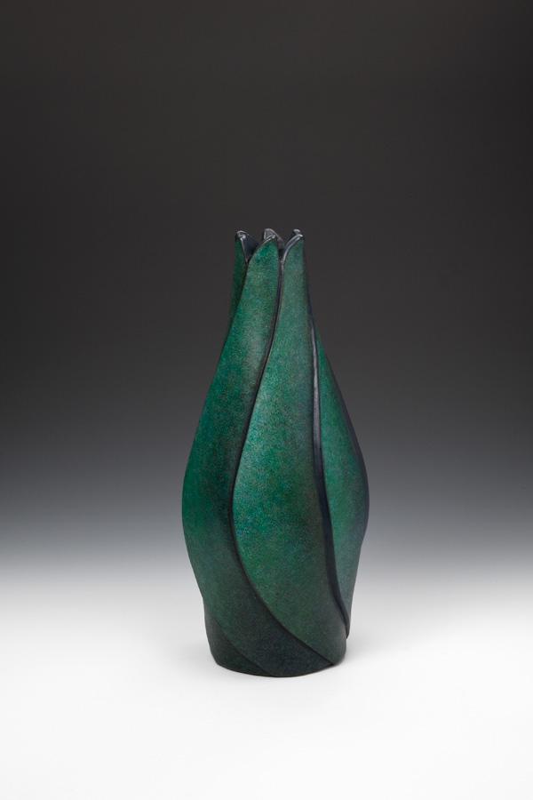 レザークラフト立体造形『緑陰』