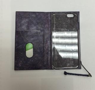 レザークラフト 革工芸 iPhoneケース