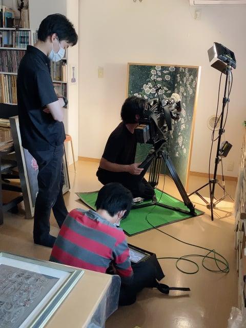 テレビ取材 レザークラフト教室 革工芸教室
