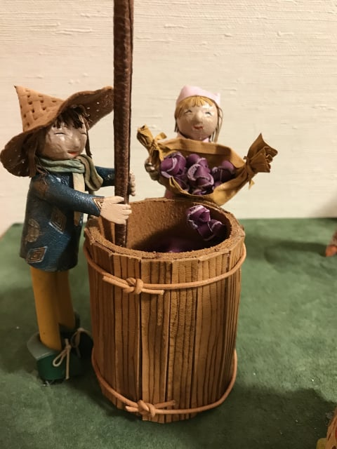 革人形葡萄酒造り レザークラフト教室 革工芸教室