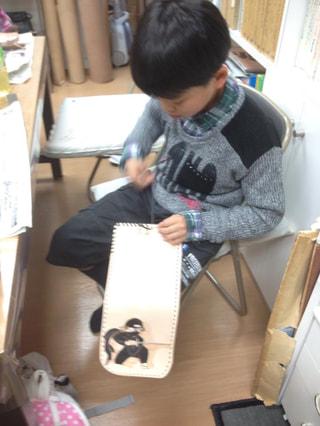 レザークラフト教室 革工芸教室 仕立て