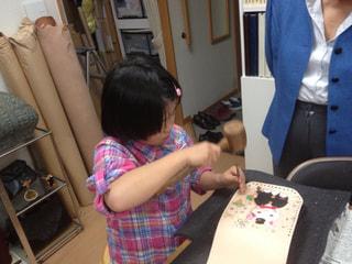 レザークラフト教室 革工芸教室 スタンピング
