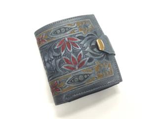 レザークラフト 二つ折り財布