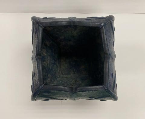 革の立体造形真上から レザークラフト教室 革工芸教室