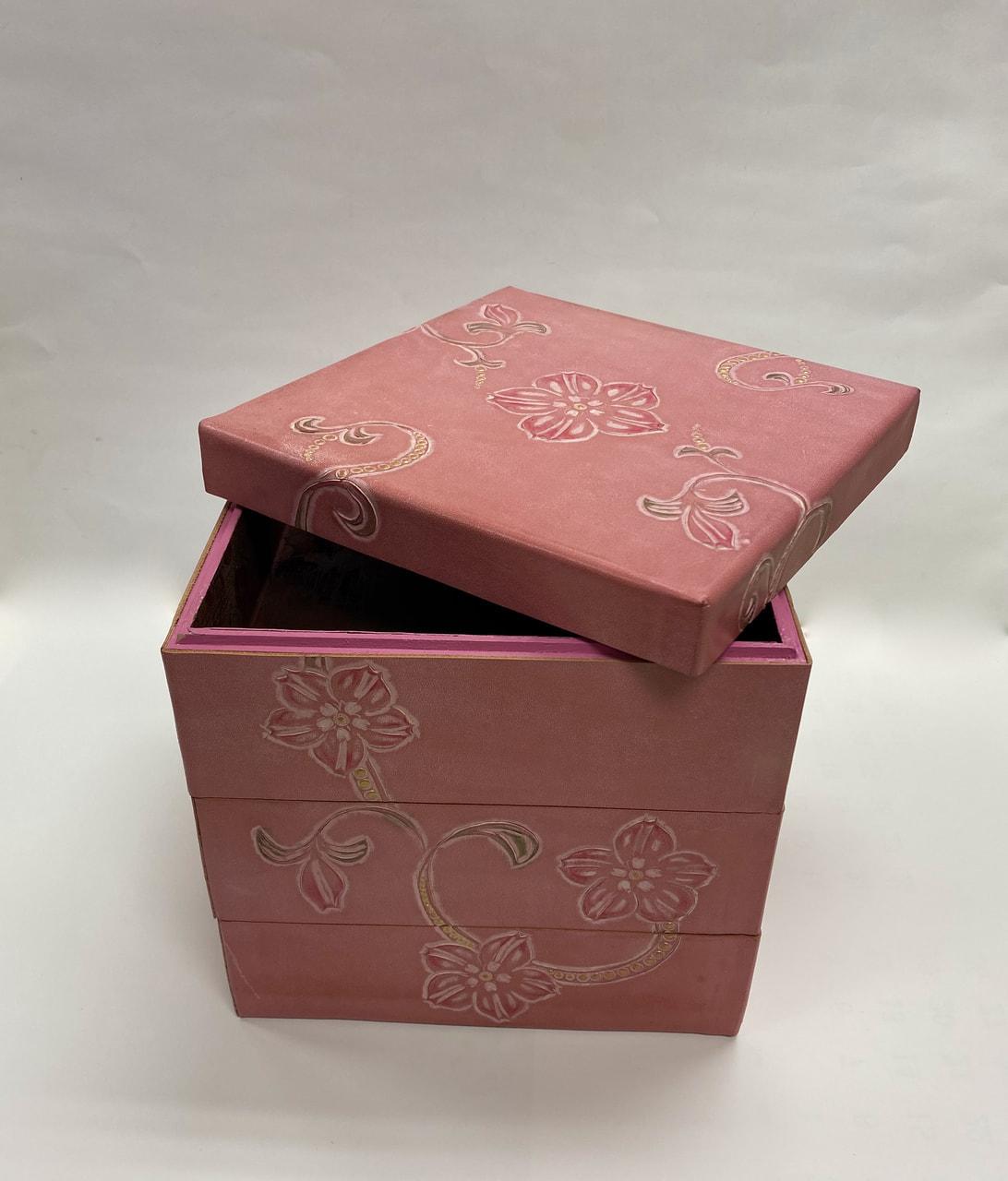 Sさんの3段の箱