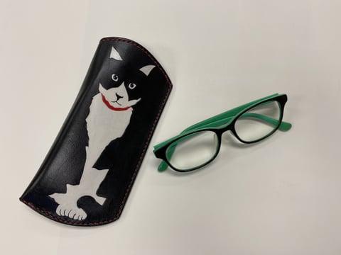 眼鏡ケース レザークラフト教室 革工芸教室