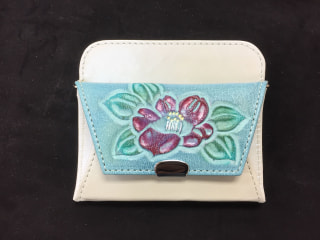レザークラフト 小物仕立て 財布