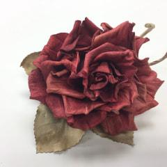 レザークラフトのお花たち−2