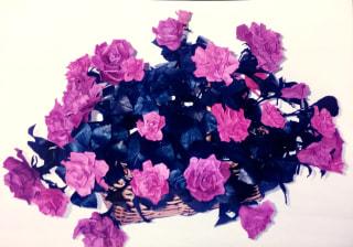 レザークラフト 薔薇の花たち