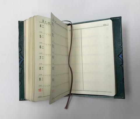 手帳カバー4 レザークラフト教室 革工芸教室
