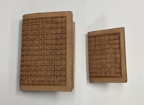 カードケースと名刺入れ レザークラフト教室 革工芸教室
