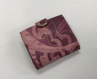 レザークラフト教室 革工芸教室 ろうけつ染め財布