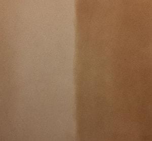 レザークラフト ワックス塗布