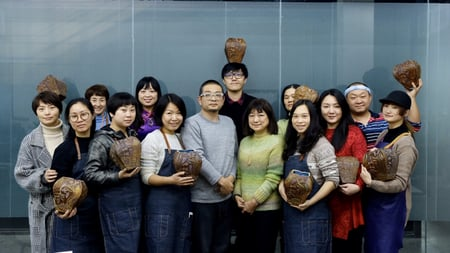 北京講習4日目−9 レザークラフト教室 革工芸教室