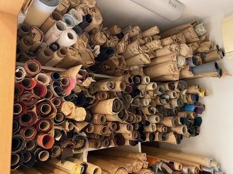 革の棚−1 レァークラフト教室 革工芸教室