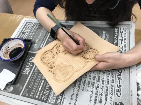 シェリダン&フィギュア レザークラフト教室 革工芸教室