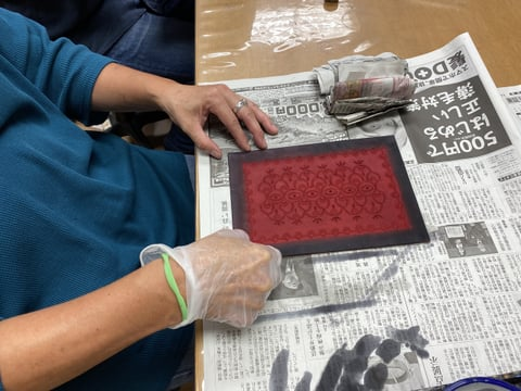 ペントレー染色 レザークラフト教室 革工芸教室