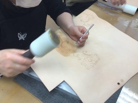 革の小箱 レザークラフト教室 革工芸教室