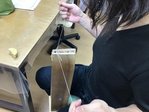 キーケース手縫い レザークラフト教室 革工芸教室