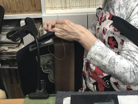 手縫い レザークラフト教室 革工芸作品