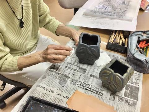 革の立体造形 レザークラフト教室 革工芸教室