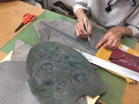 リュックサック レザークラフト教室 革工芸教室