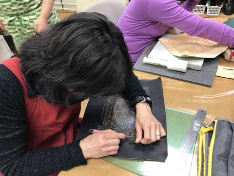 ハンサムドラゴン レザークラフト教室 革工芸教室