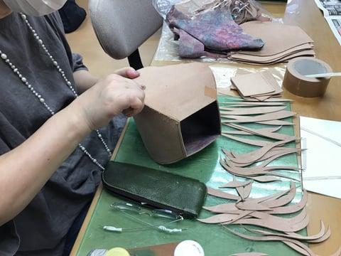 革造形 レザークラフト教室 革工芸教室