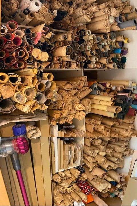 革置き場 レザークラフト教室 革工芸教室