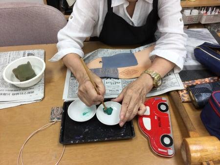 アクセサリー レザークラフト教室 革工芸教室