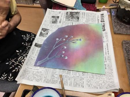 花水木蕾 レザークラフト教室 革工芸教室