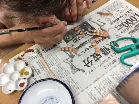 猫のしっぽ レザークラフト教室 革工芸教室