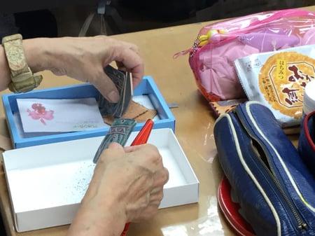 ペンダント レザークラフト教室 革工芸教室