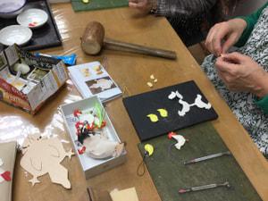 レザークラフト教室 革工芸教室 ストラップ