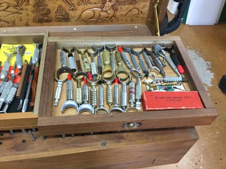 スーベルナイフコレクション  レザークラフト教室 革工芸教室