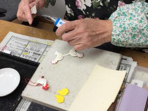 レザークラフト教室 革工芸教室 干支のストラップ