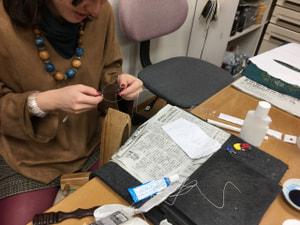 レザークラフト教室 革工芸教室 ベルト