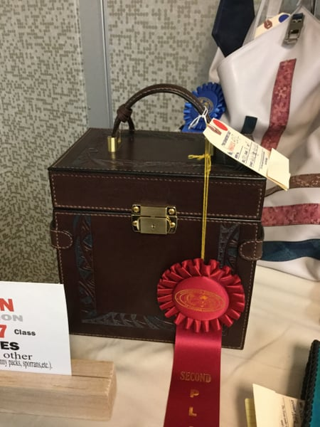 IFoLG 受賞作品−9 レザークラフト教室 革工芸教室