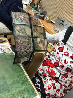 レザークラフト教室 革工芸教室 手縫い