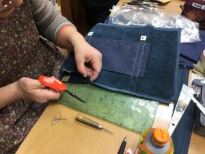 レザークラフト教室 革工芸教室 袋物