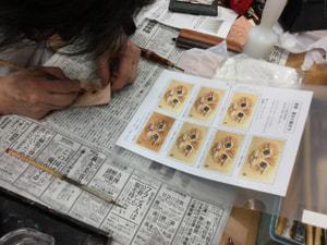 れざークラフト教室 革工芸教室 猫