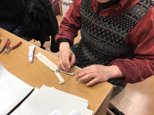 袋物仕立て レザークラフト教室 革工芸教室