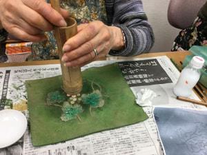 金箔 レザークラフト教室 革工芸教室