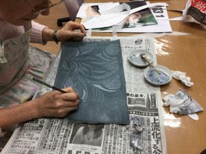 染色 レザークラフト教室 革工芸教室