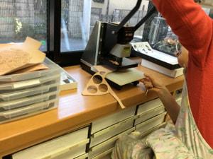 ハンドクリッカー レザークラフト教室 革工芸教室