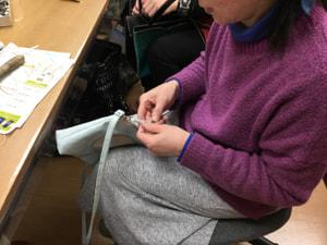ファスナー引き手 レザークラフト教室 革工芸教室